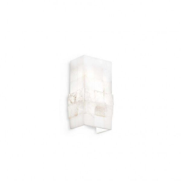 ideal lux stones ap1 - lampada da parete - alabastro