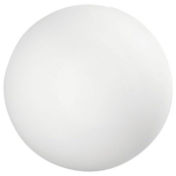 linea light oh! - lampada da terra a sfera da esterni s - natural