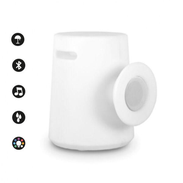 IoLux Sgabello-fono TE OUT LED RGB - Bianco