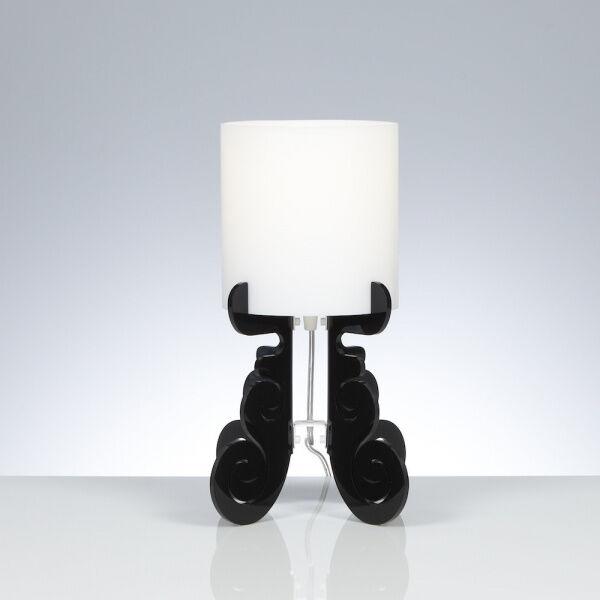 Emporium Lampada da tavolo Truciolo S - Nero