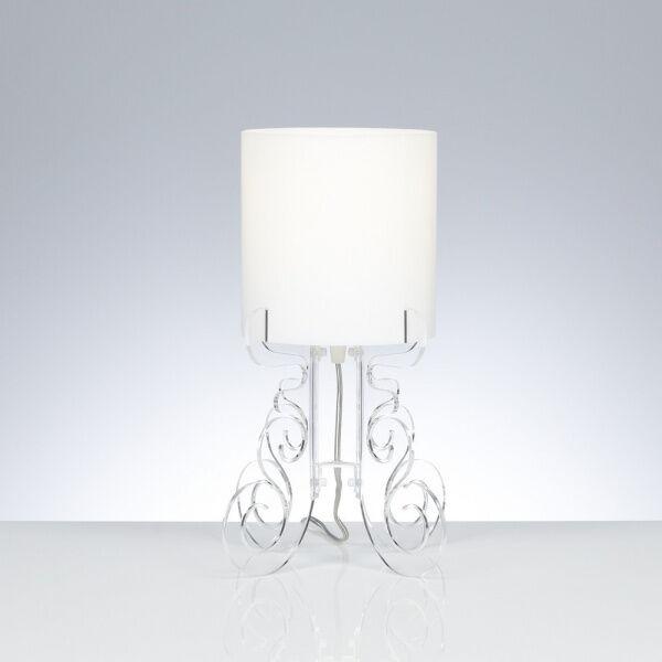 Emporium Lampada da tavolo Truciolo S - Trasparente