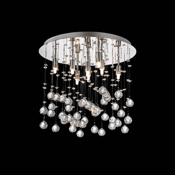 Ideal Lux Lampada a soffitto MOONLIGHT PL8 - Cromo