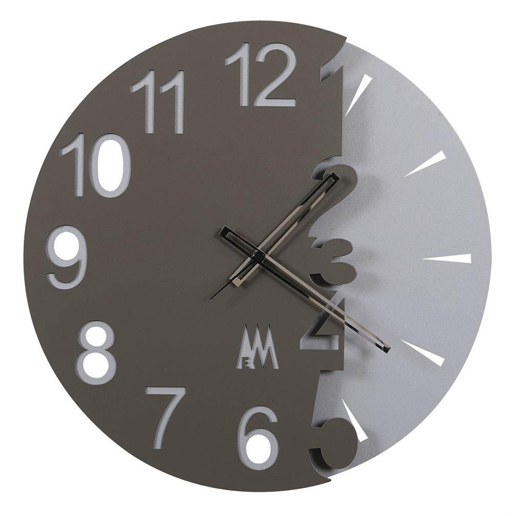 ARTI E MESTIERI orologio da parete FULL MOON (Antracite - Metallo)