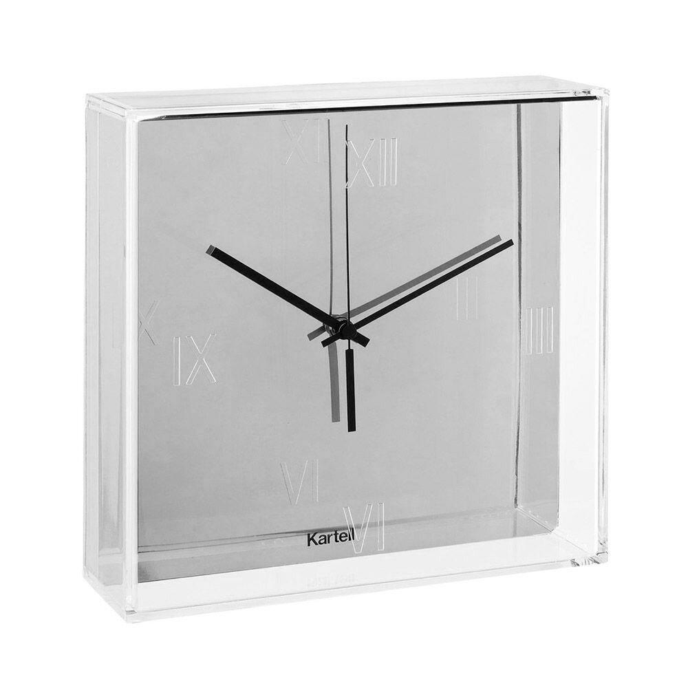 KARTELL orologio da parete TIC&TAC (Cromato - PMMA trasparente e ABS metallizzato)