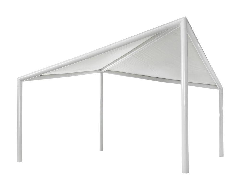 MYYOUR gazebo per esterni KITE (5x5 m - PVC, alluminio e acciaio verniciato)