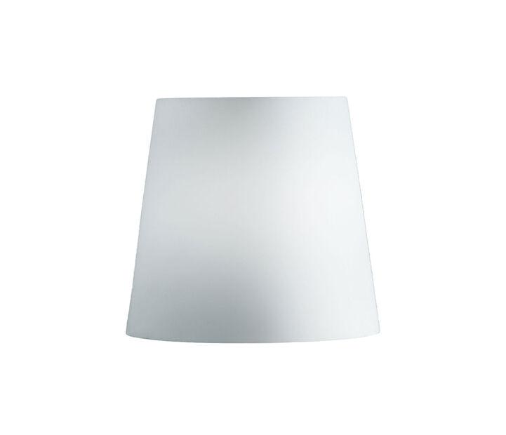 FONTANA ARTE ricambio diffusore per lampada da tavolo FONTANA PICCOLA, 3247TA/0 e 2198TA/0 (Altezza 19,5 cm, Ø 20 cm - Vetro)
