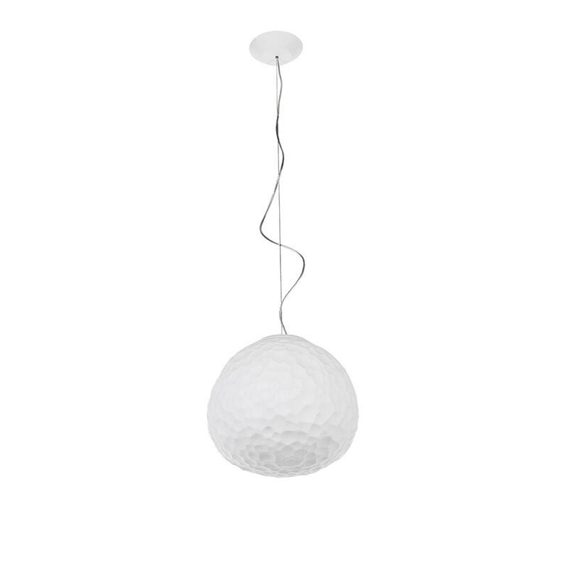 Artemide lampada a sospensione METEORITE 35 (Ø 35 cm - Vetro soffiato, tecnopolimero)