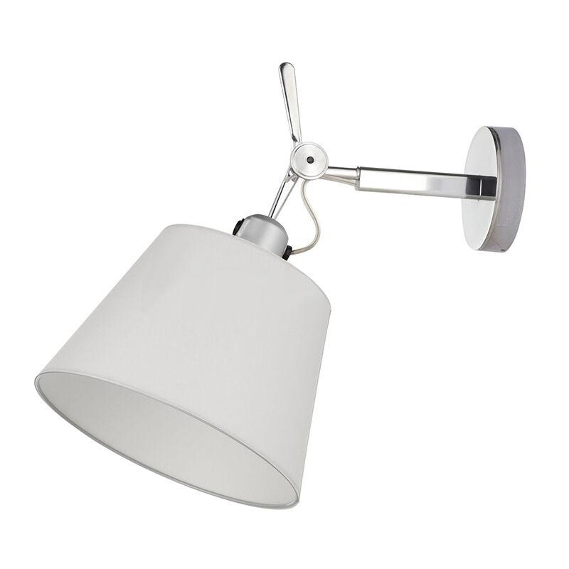 Artemide lampada da parete TOLOMEO DIFFUSORE 32 (Diffusore in raso ø 320 mm - Alluminio)