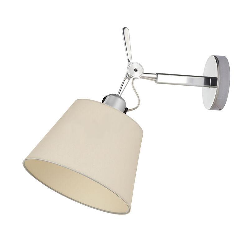 Artemide lampada da parete TOLOMEO DIFFUSORE 24 (Diffusore in raso ø 240 mm - Alluminio)