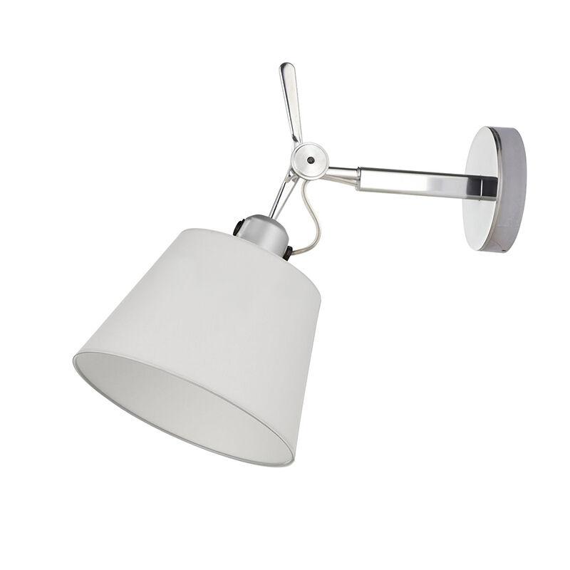 Artemide lampada da parete TOLOMEO DIFFUSORE 18 (Diffusore in raso ø 180 mm - Alluminio)
