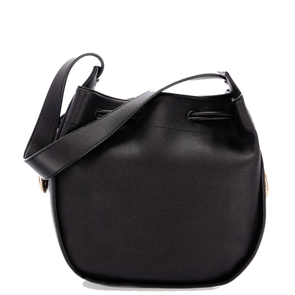 liujo borsa donna hobo a spalla colore nero