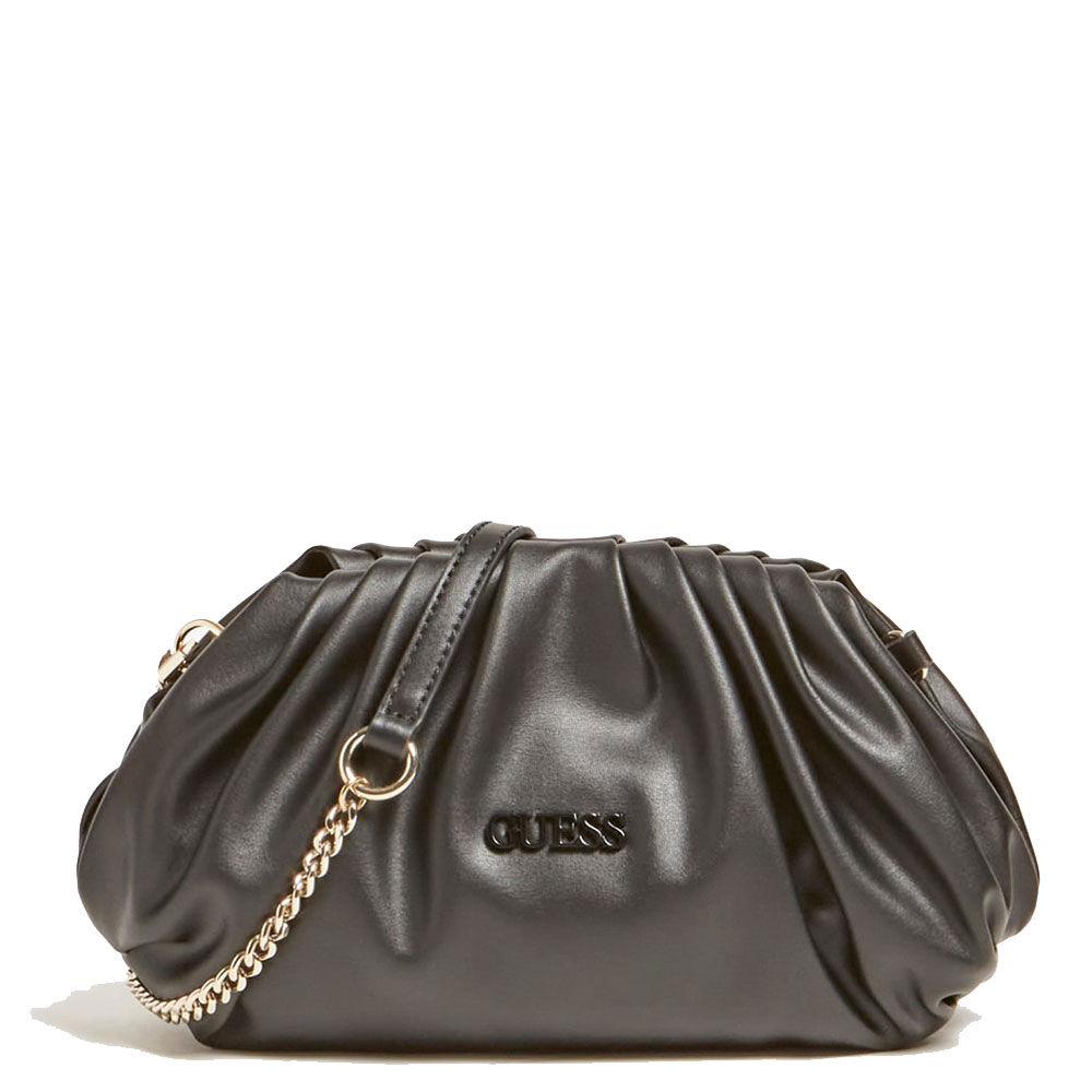 guess borsa donna clutch con tracolla colore nero linea central city
