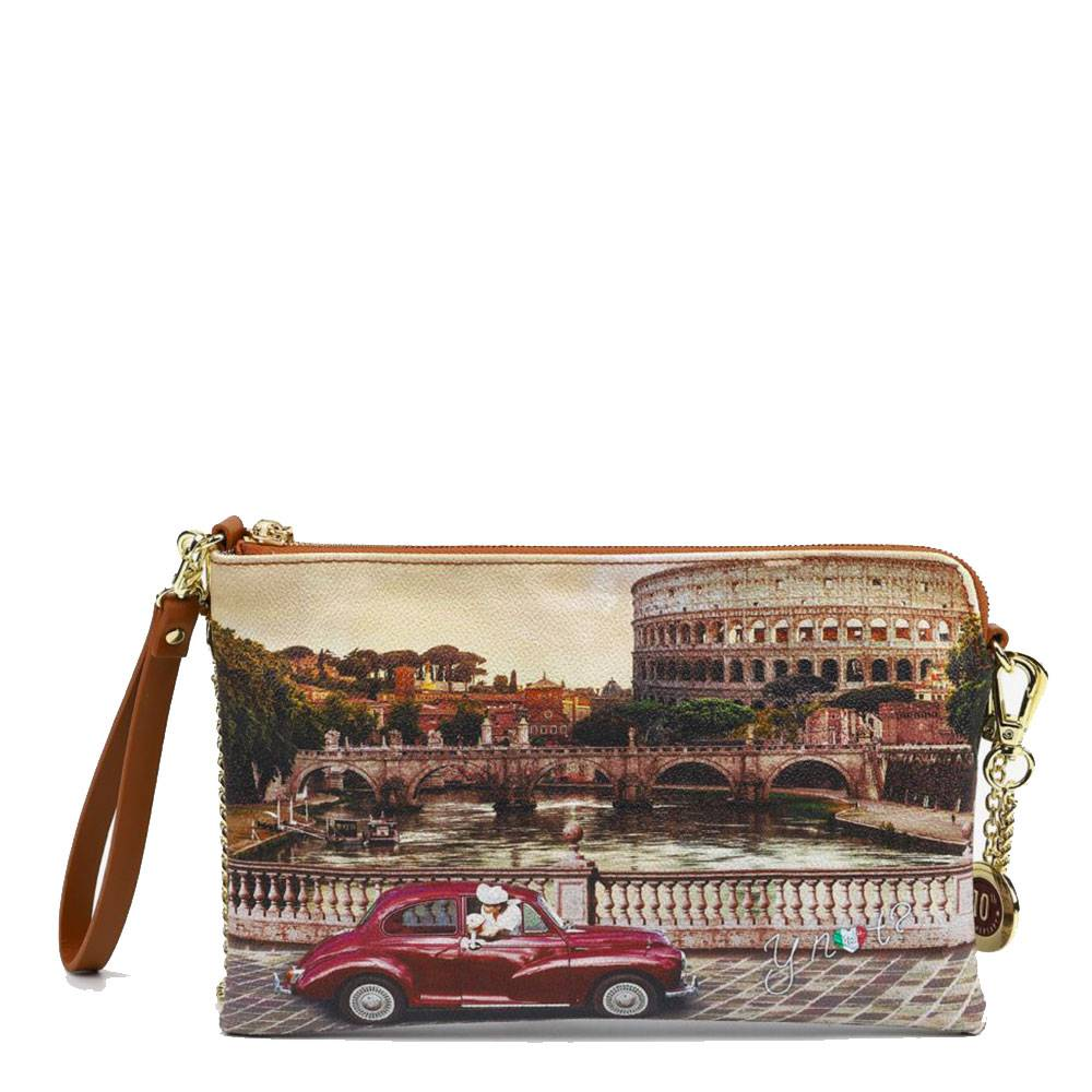 y not? borsa donna y not pochette con tracolla yes-303 roma vintage