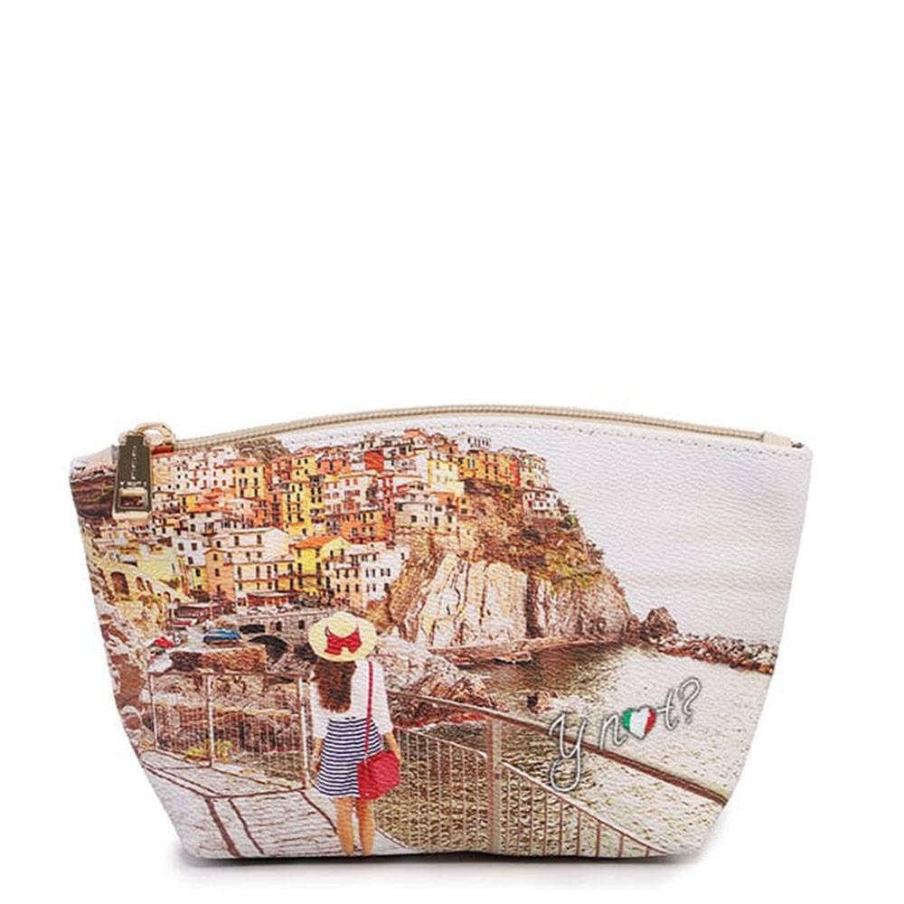 y not? beauty case piccolo y not yes-308 tramonto sul mare