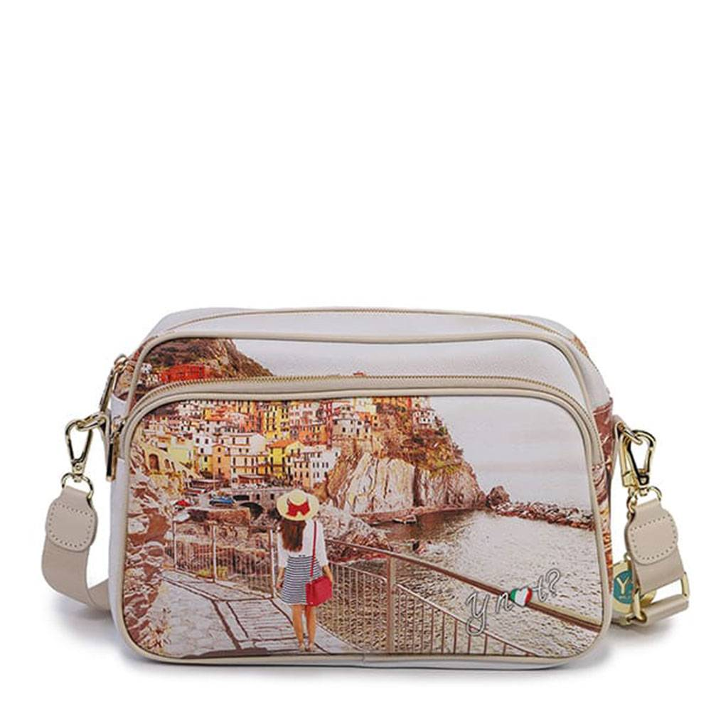 y not? borsa donna a tracolla y not tramonto sul mare yes-331