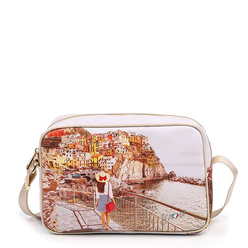 y not? borsa donna y not a tracolla yes-440 tramonto sul mare
