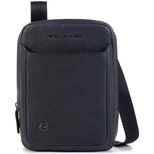Piquadro Borsello a Tracolla in Pelle Blu con Porta iPad®mini CA3084B3