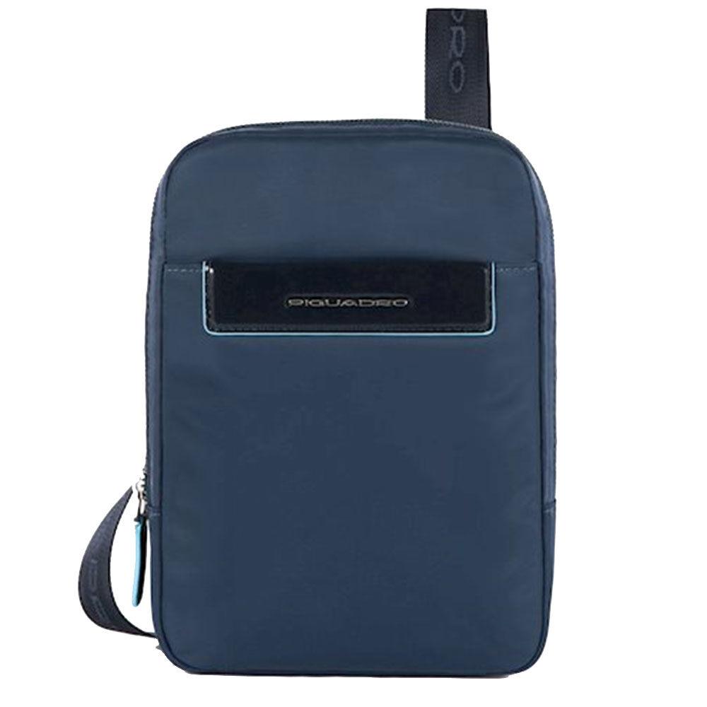 Piquadro Borsello Organizzato Porta iPad Mini CA3084CE in Tessuto Blu
