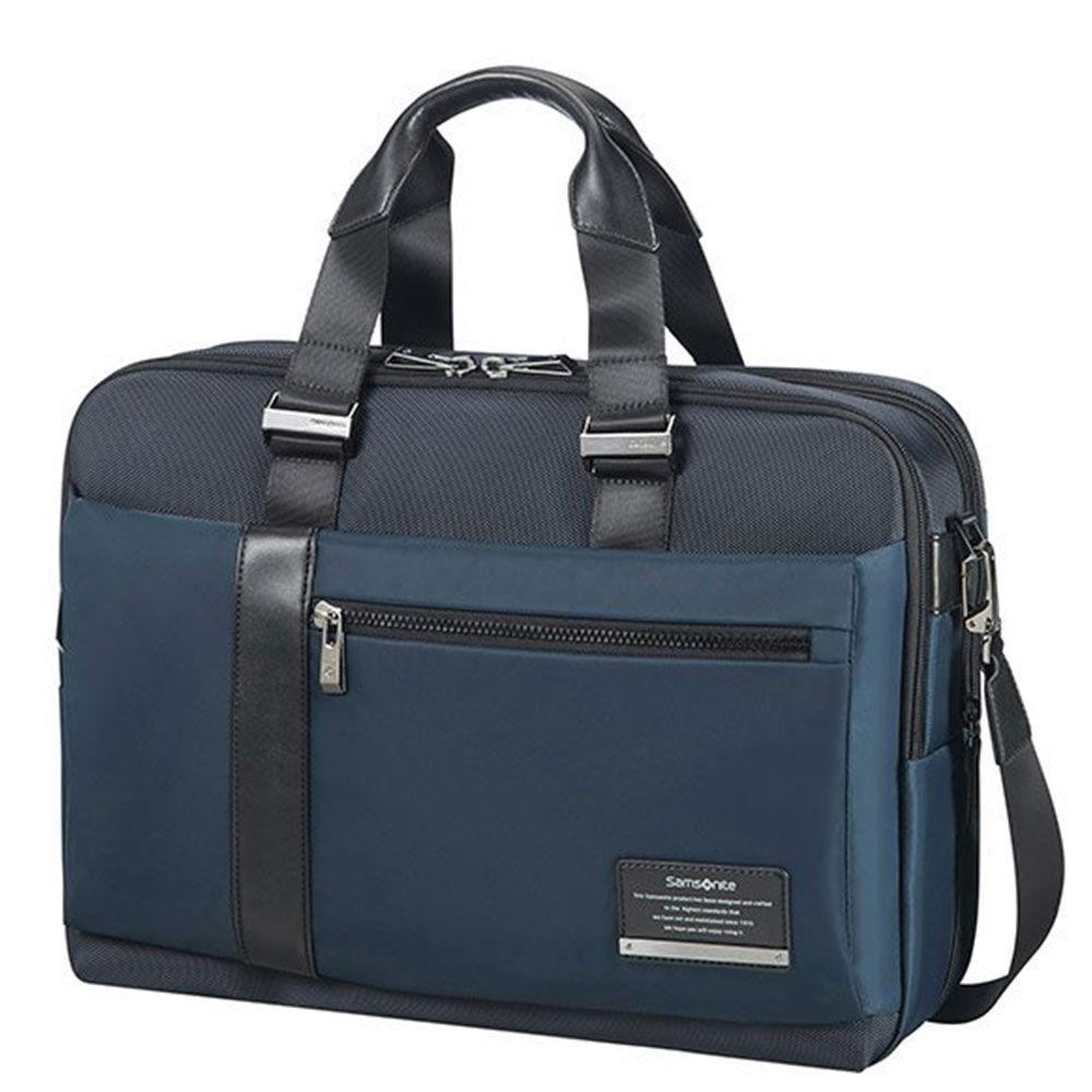 "Samsonite Cartella Uomo Porta Pc 15,6"" e Tablet linea Openroad/Bailhandle Space Blue"