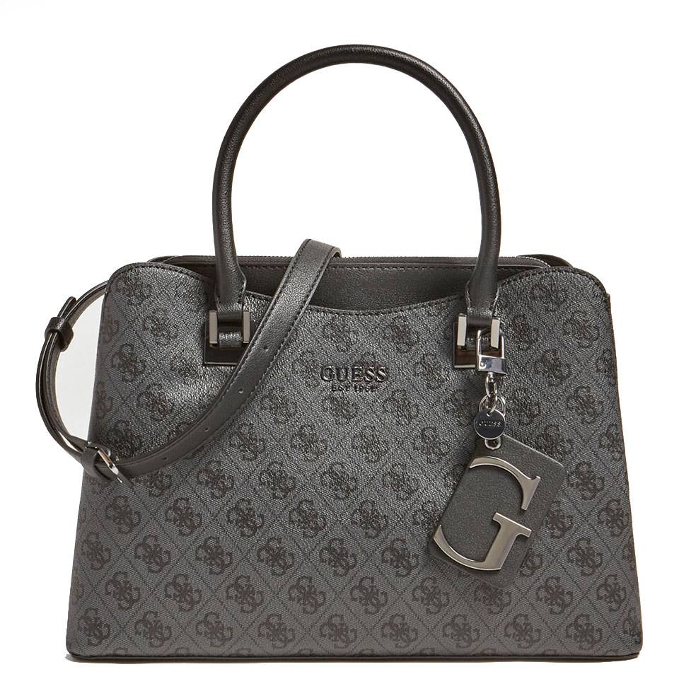 Guess Borsa Donna a Mano linea Mika colore Coal
