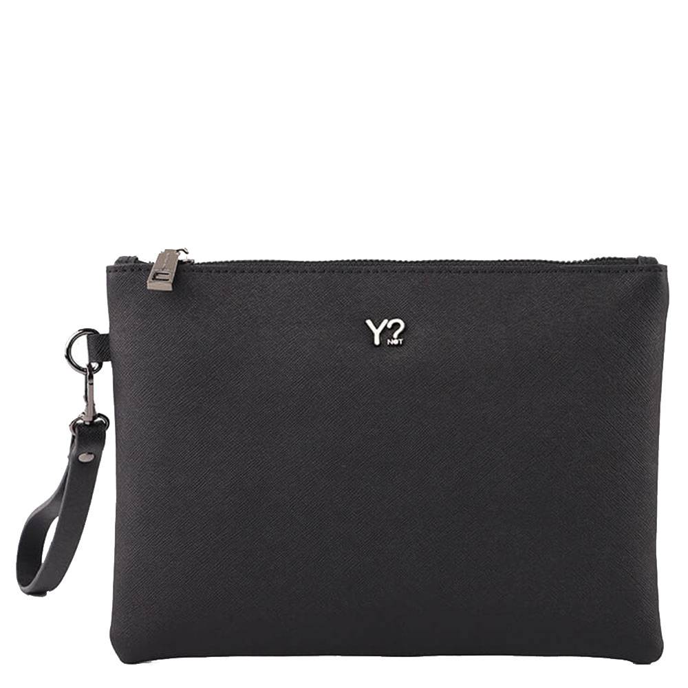 Y Not? Pochette Donna in Pelle Saffiano Y NOT SAF-742 Black