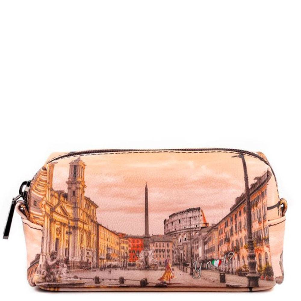 Y Not? Beauty Grande con Zip Y NOT stampa Morning in Rome YES-304