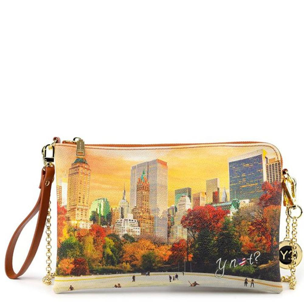 Y Not? Borsa Donna Y NOT Pochette con Tracolla YES-303 New York Central Park