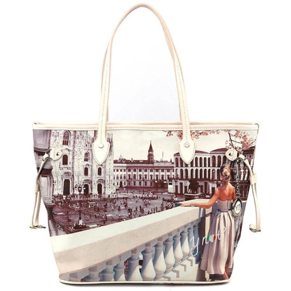 Y Not? Borsa Donna Y NOT Shopping Media a Spalla YES-336 Milan View
