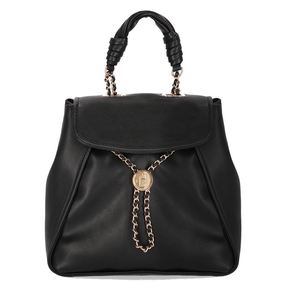 liujo zaino donna con catena gioiello colore nero