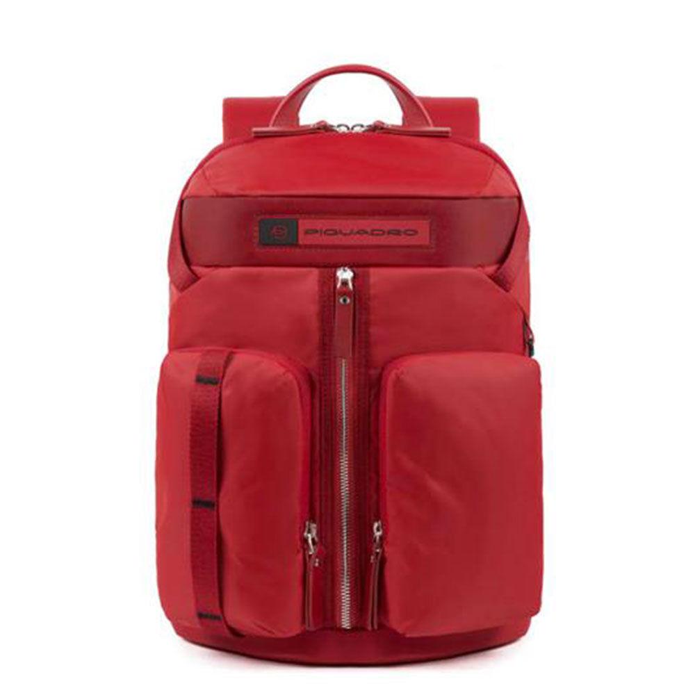 Piquadro Zaino in Nylon Rosso Porta Tablet CA5038BIO Linea PQ Bios