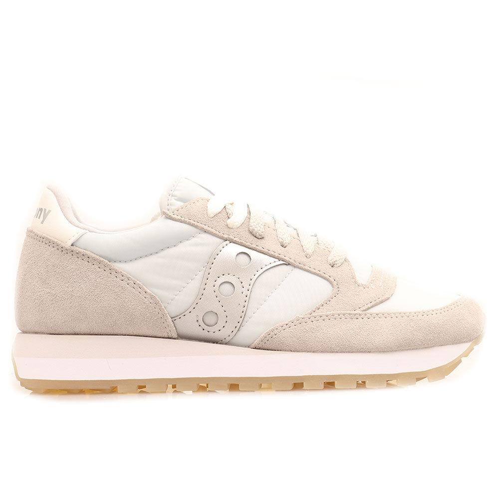 saucony scarpe donna sneakers jazz original grey -silver
