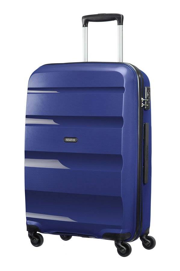 American Tourister Trolley Medio Rigido 4 Ruote 66cm 3,4kg -  Bon Air Navy