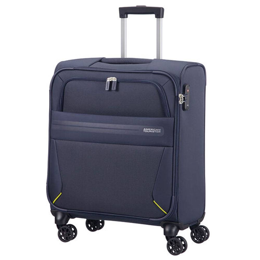 American Tourister Trolley Cabina Semirigido 55cm 4 Ruote 2,6kg -  Summer Voyager Midnight Blue
