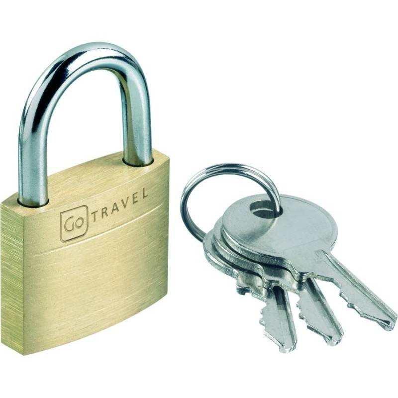 design go Lucchetto in Ottone per Valigie e Trolley Secure Lock