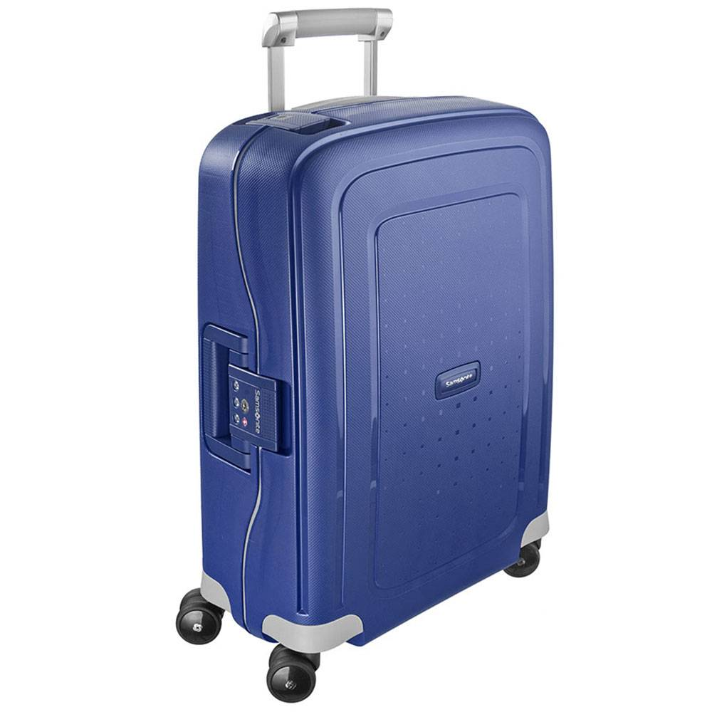 Samsonite Trolley Cabina Rigido 4 Ruote 55cm -  S'Cure Dark Blue