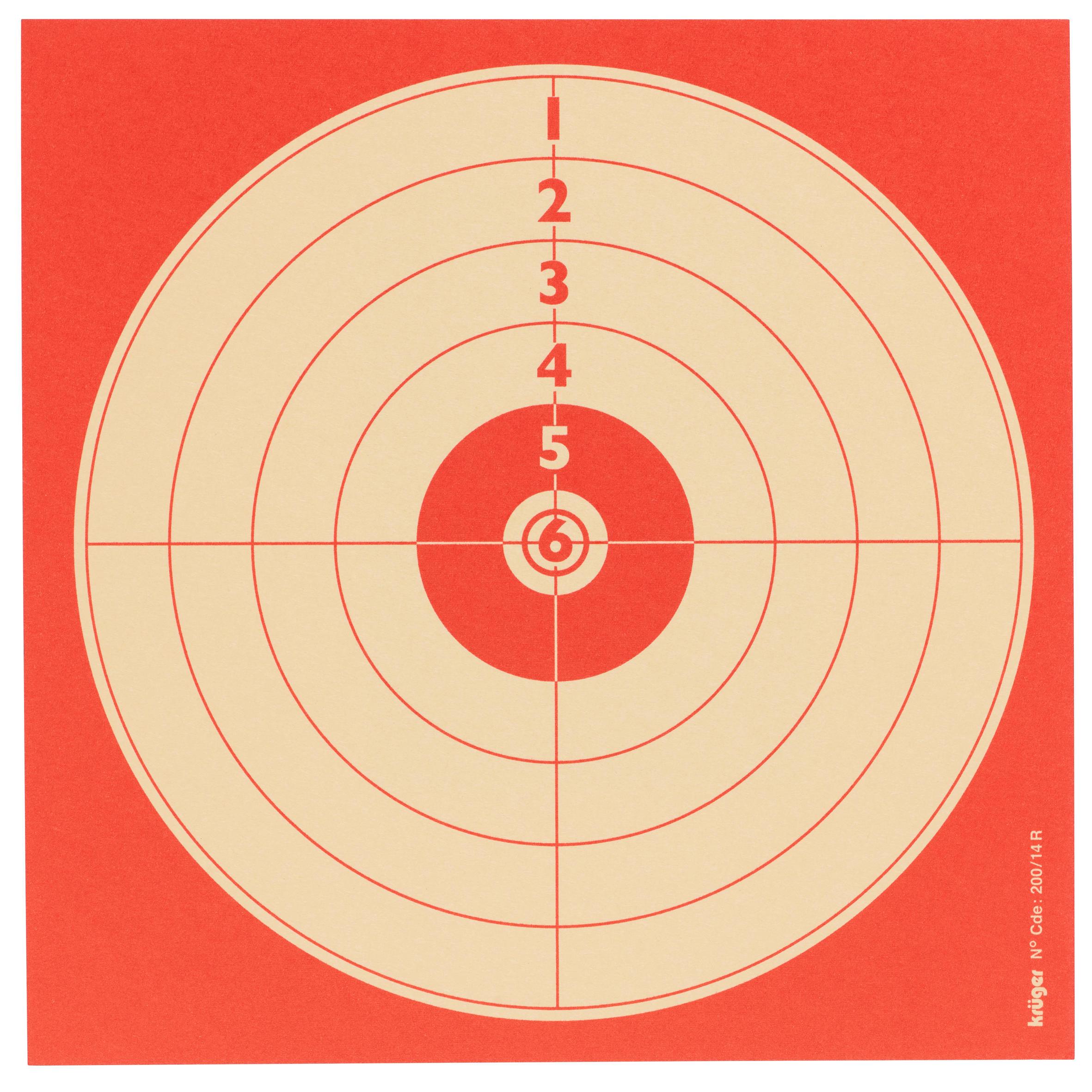 kruger bersaglio tempo libero aria compressa 14 x 14 cm