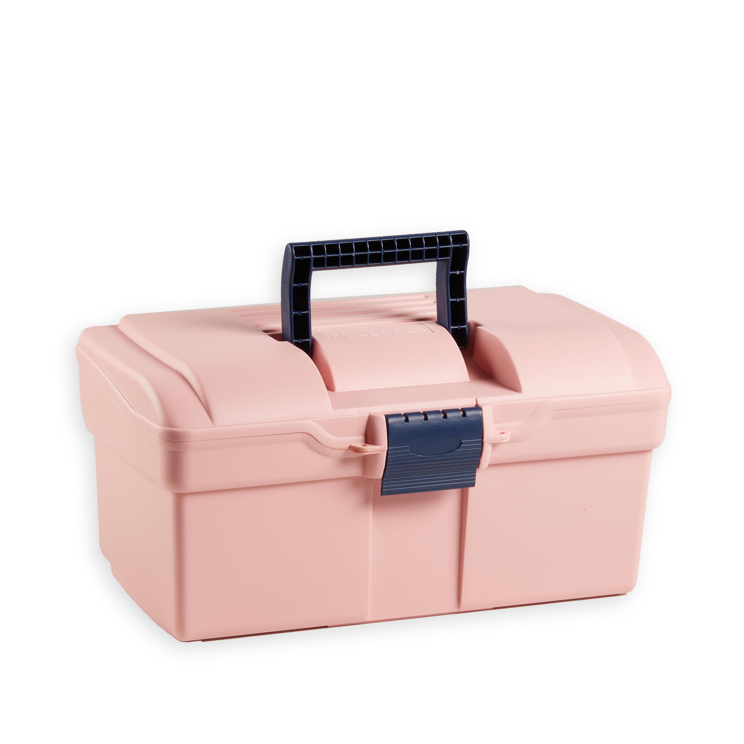 FOUGANZA Bauletto strigliatura equitazione 300 rosa-blu