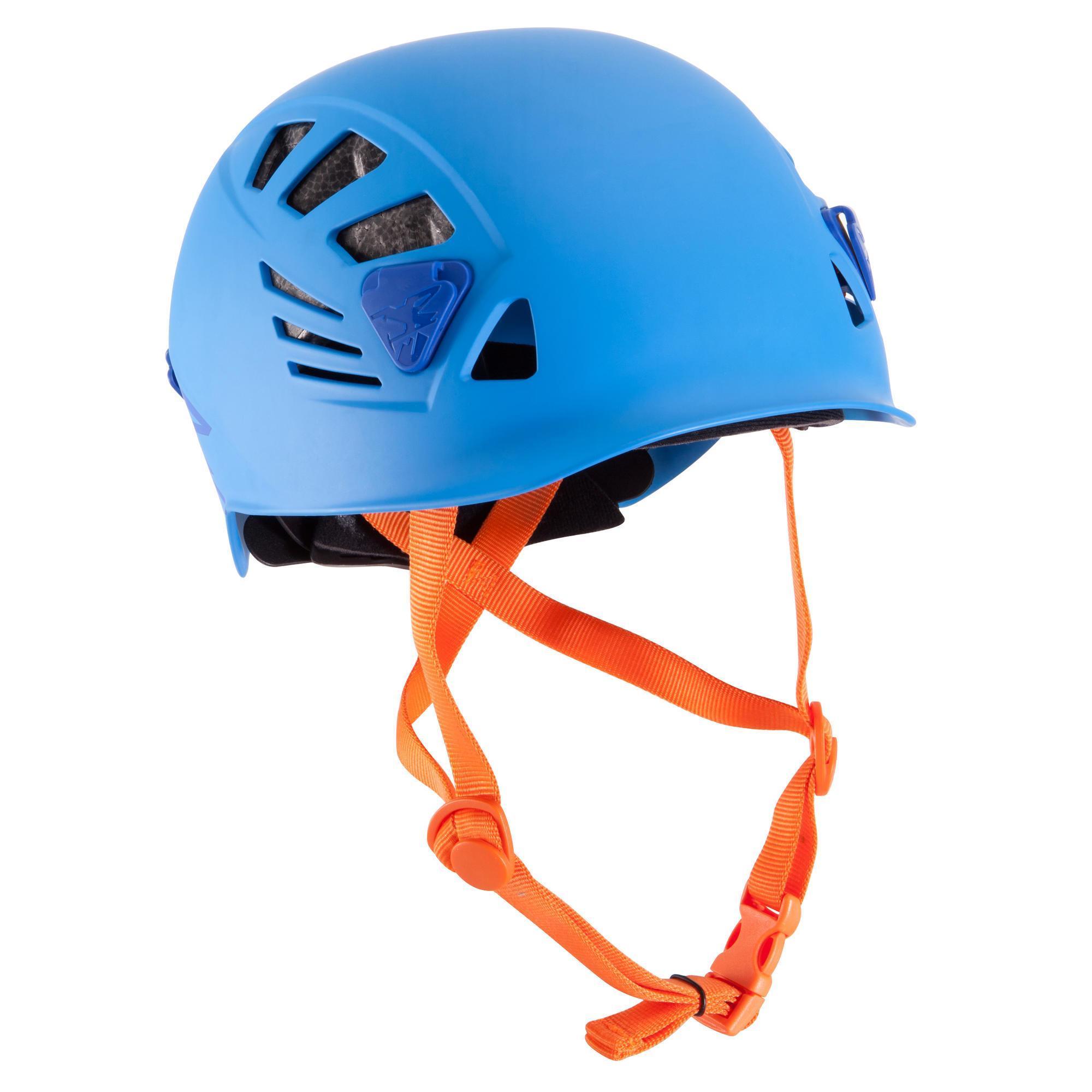 SIMOND Casco arrampicata e alpinismo ROCK azzurro