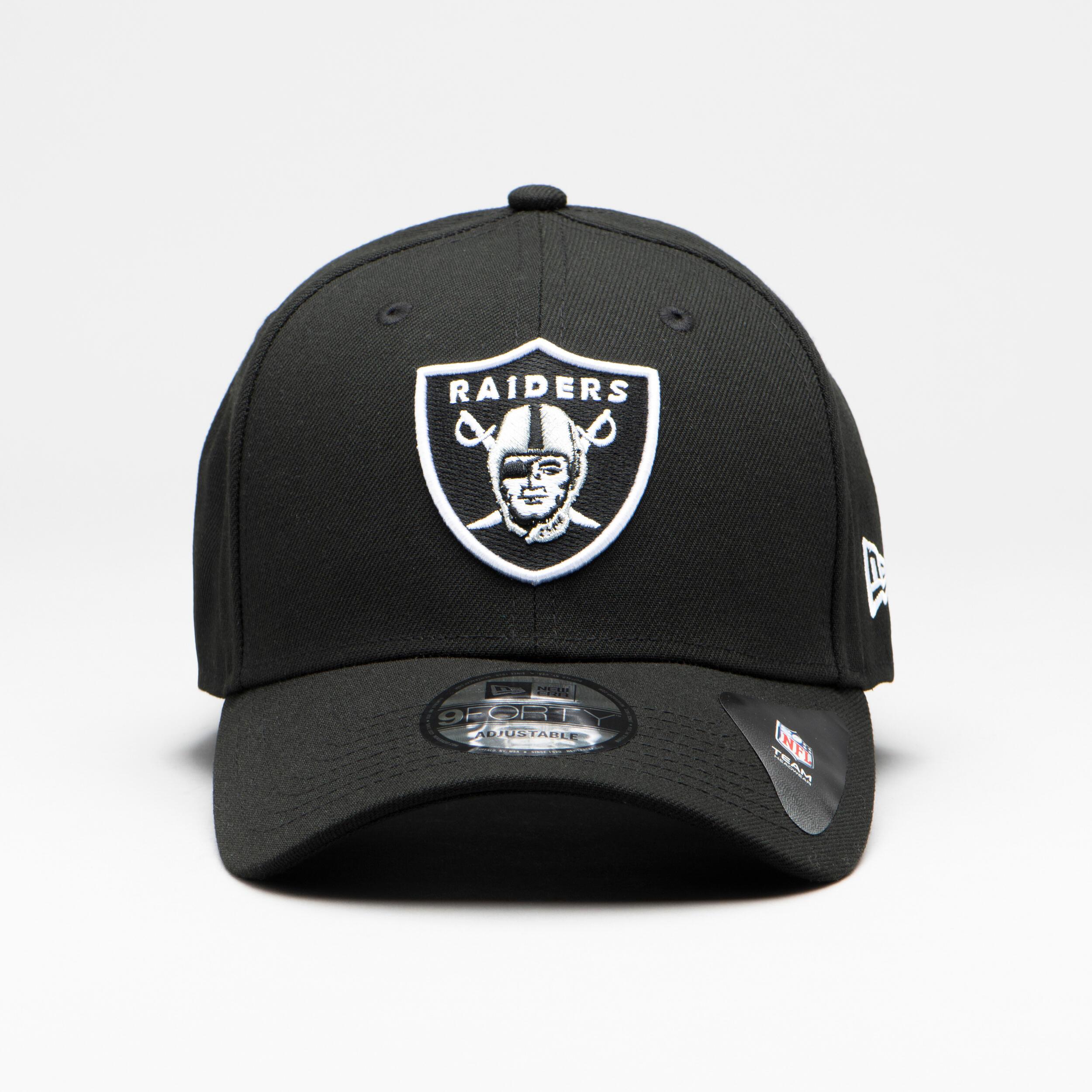 new era Cappellino football americano adulto RAIDERS NFL THE LEAGUE nero