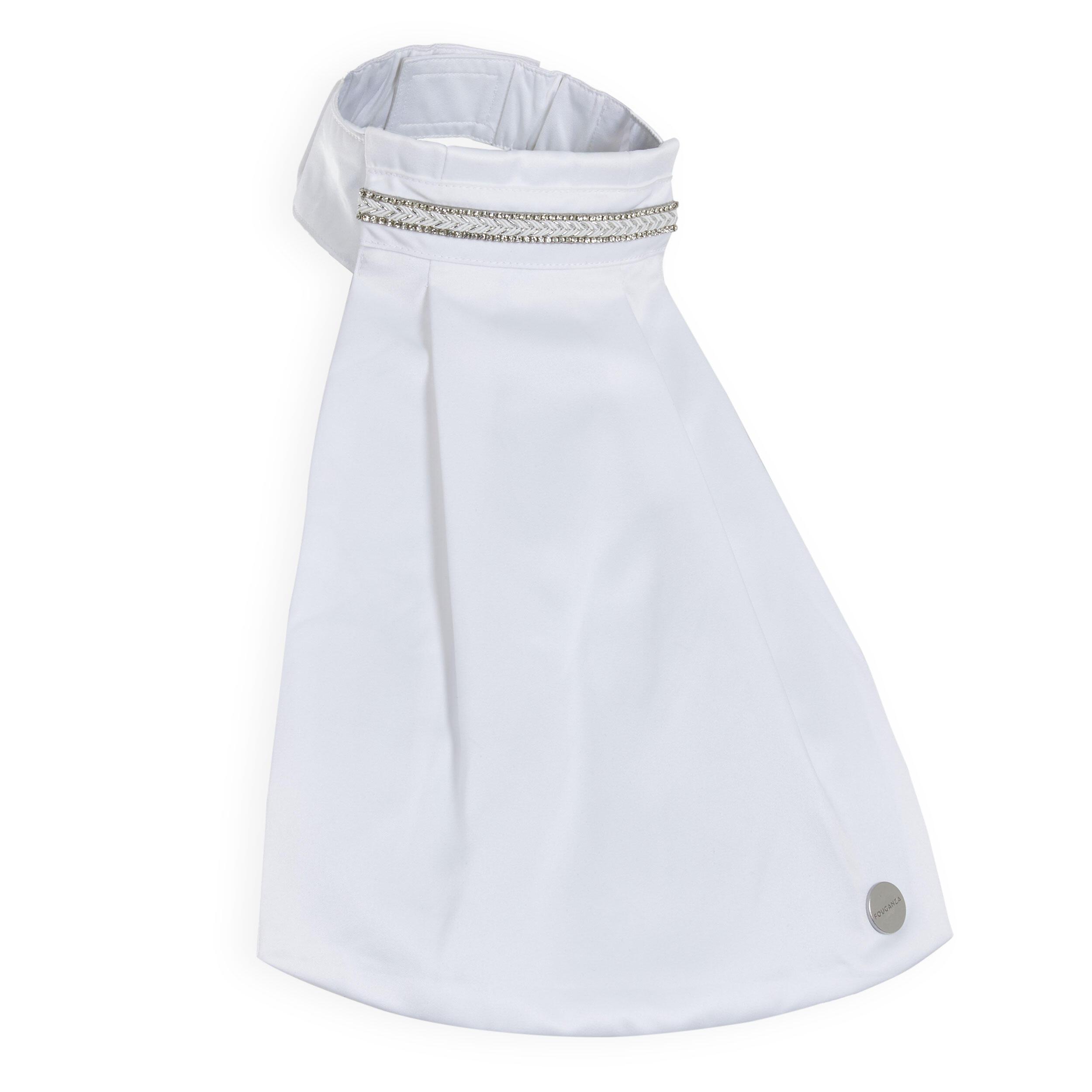 FOUGANZA Cravatta dressage donna bianca