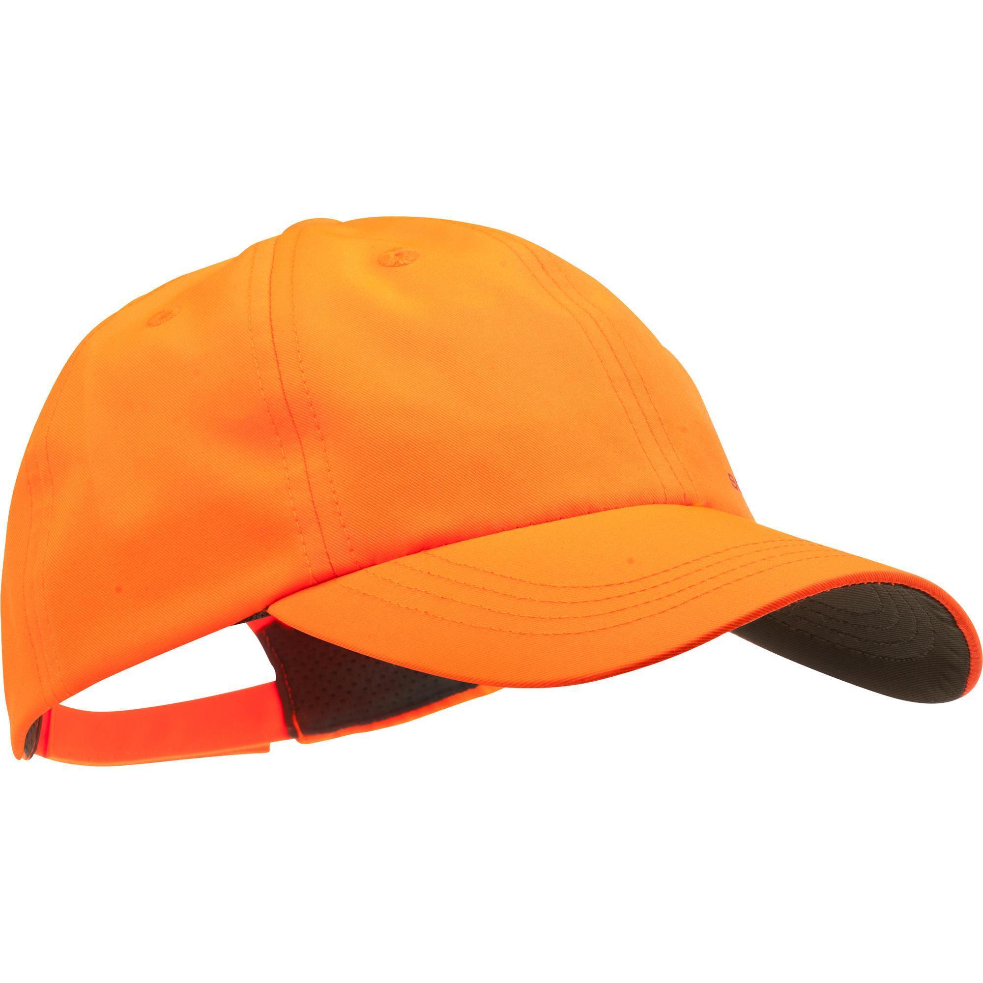 SOLOGNAC Cappellino arancione caccia 100 bambino