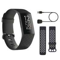 fitbit activity tracker charge 4 nero