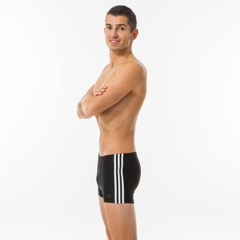 Adidas Costume boxer uomo 3S nero-bianco