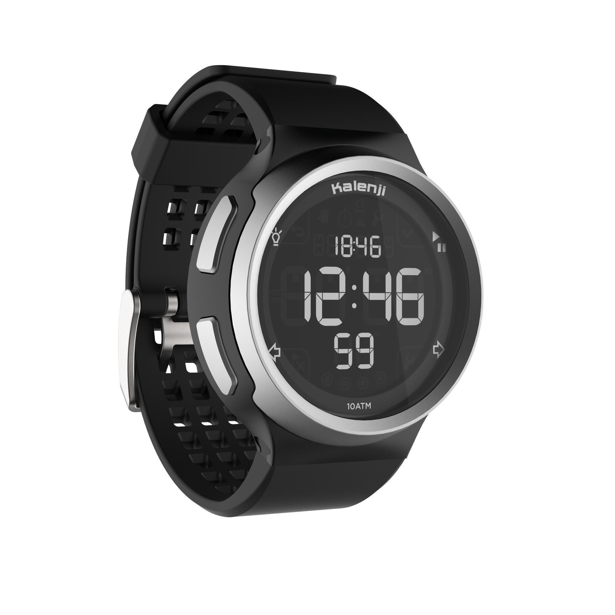 Kalenji Orologio cronometro running W900 nero