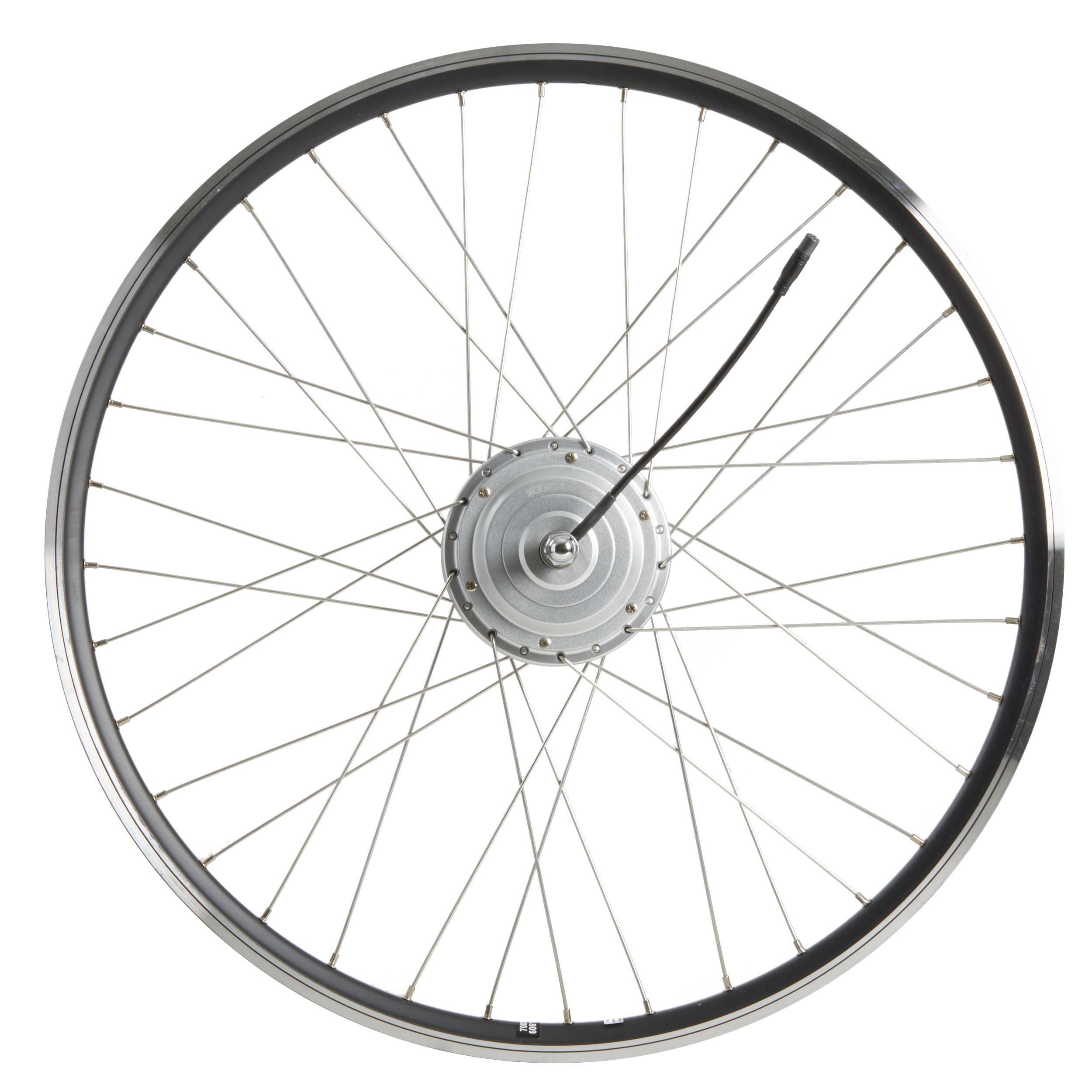 elops ruota anteriore bici elettrica città b900/ 900 36 volt nera