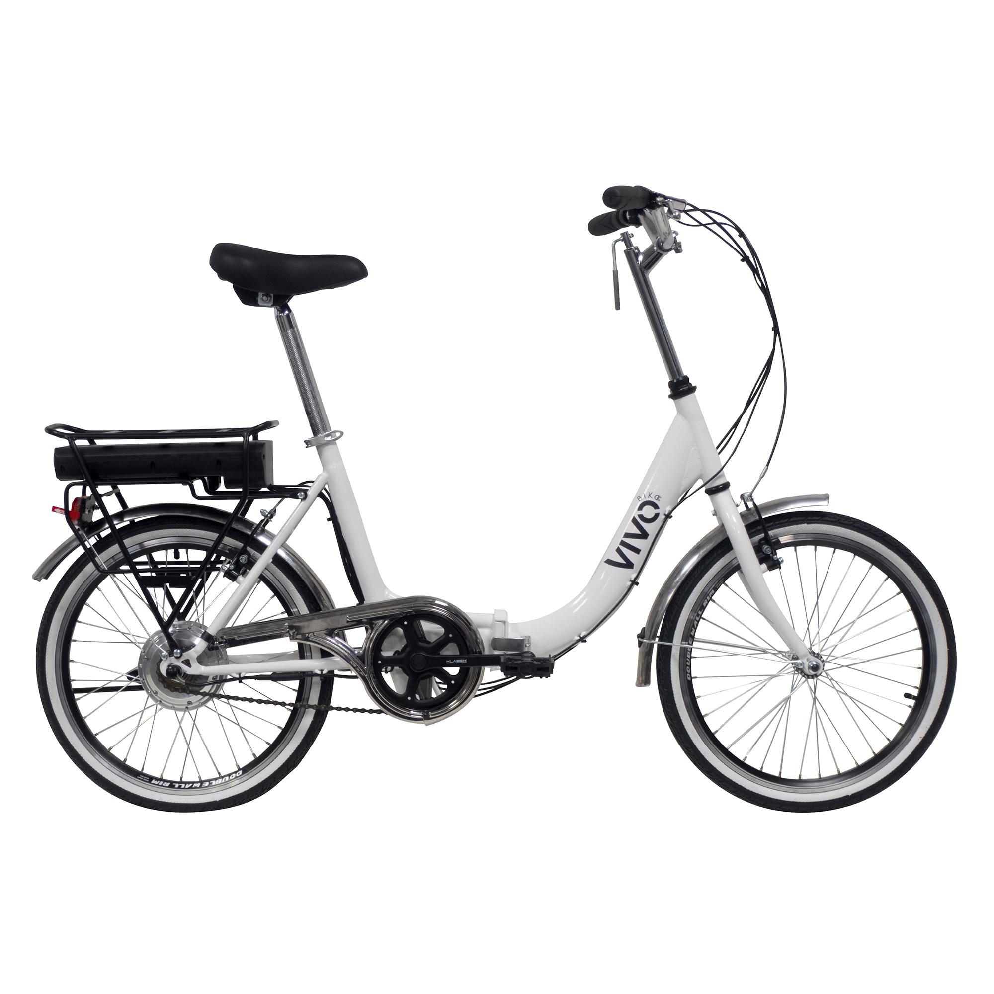 vivobike bici pieghevole  20 retrò elettrica a pedalata assistita