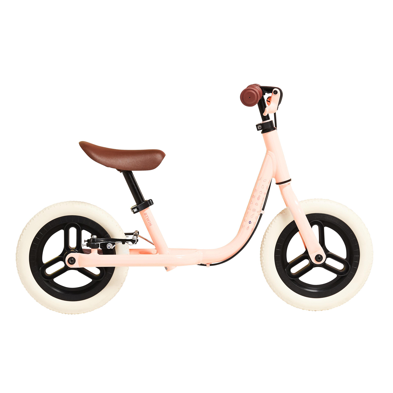 btwin bici senza pedali bambino runride 500 rosa-beige 10