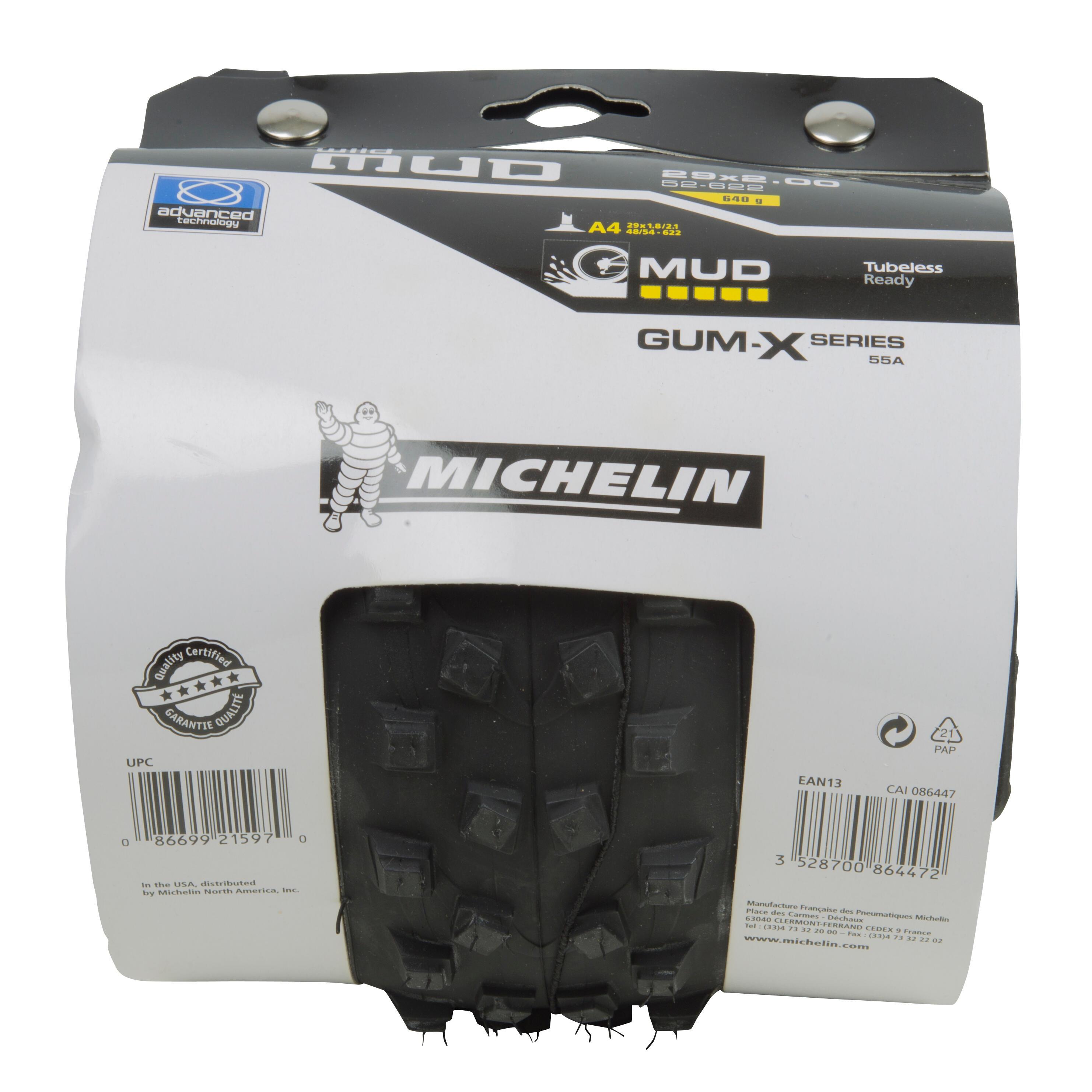 Michelin Copertone mtb  WILDMUD ADVANCED tubeless ready 29x2,00 / ETRTO 52-622