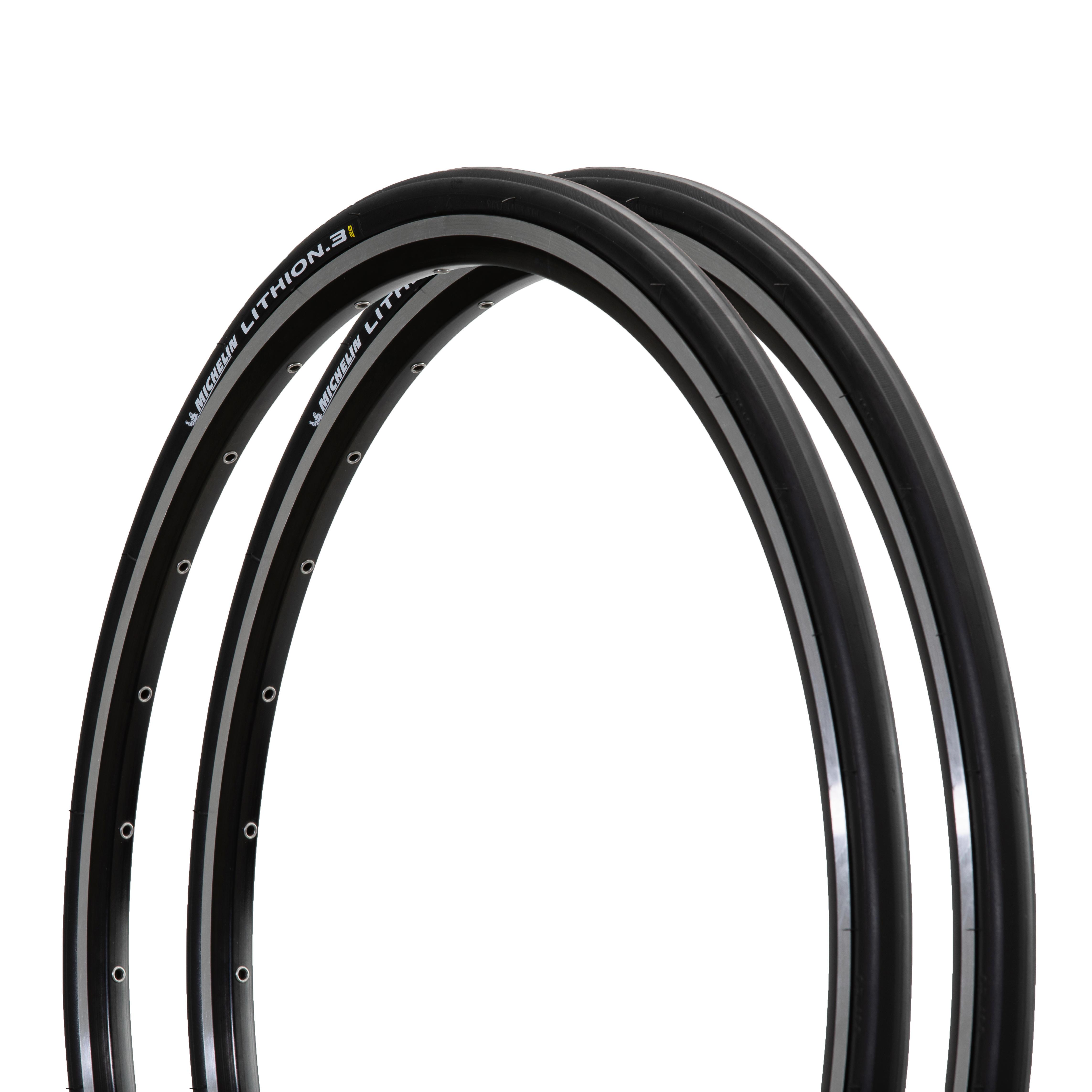 Michelin Due copertoni LITHION 3 700x25 tallone morbido / ETRTO 25-622