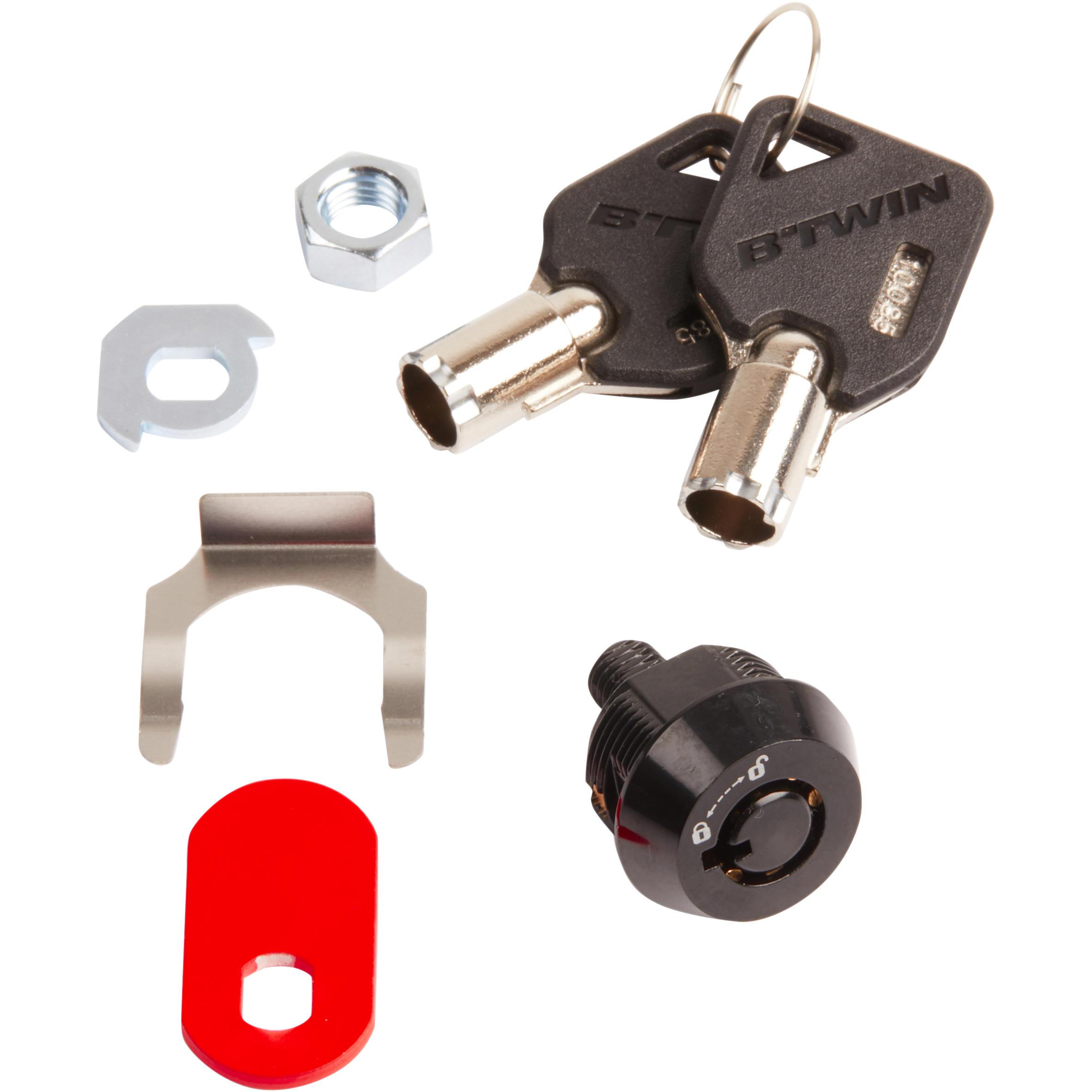 ROCKRIDER Blocchetto chiavi rotonde batteria esterna /RIVERSIDE
